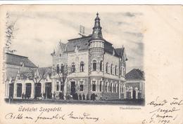1071/ Udvozlet Szegedrol, Tuzoltolaktanya, 1899 - Hongrie