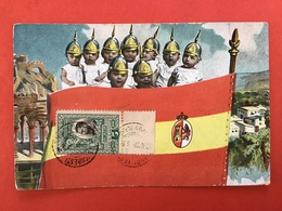 1906 - KINDSOLDATEN - ENFANTS SOLDATS - VLAG SPANJE - DRAPEAU ESPAGNE - Satiriques