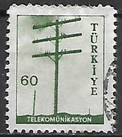 TURQUIE     -     1959 .   Y&T N° 1437 Oblitéré - 1921-... República