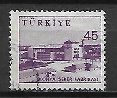 TURQUIE     -     1959 .   Y&T N° 1436B Oblitéré . - 1921-... República