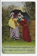 Edwardian Humour - Bamforth - 1412 - Humour