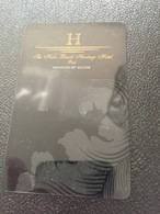 Hotelkarte Room Key Keycard Clef De Hotel Tarjeta Hotel  THE KUTA BEACH HERITAGE BALI - Télécartes