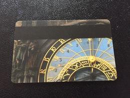 Hotelkarte Room Key Keycard Clef De Hotel Tarjeta Hotel  INTERCONTINENTAL PRAGUE - Telefonkarten