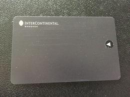 Hotelkarte Room Key Keycard Clef De Hotel Tarjeta Hotel  INTERCONTINENTAL BANGKOK - Télécartes