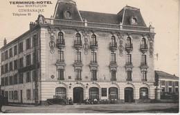 03 - MONTLUCON - Terminus Hôtel Gare Montluçon - Montlucon
