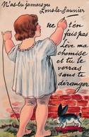 """CARTE SYSTEME """"T?AS JAMAIS VU LONS LE SAUNIER LEVE MA CHEMISE """" REF 60262 - Lons Le Saunier"""