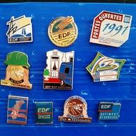 EDF 10 PIN'S - EDF GDF