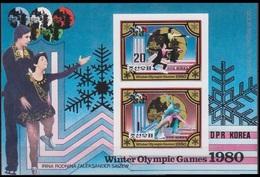 1980Korea North2038-39KLb1980 Olympic Games In Lake Placid 35,00 € - Winter 1980: Lake Placid