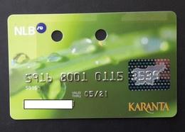 Karanta Nova Ljubljanska Banka  Slovenia Credit Card - Cartes De Crédit (expiration Min. 10 Ans)