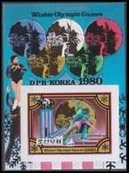 1980Korea North2039/B80b1980 Olympic Games In Lake Placid 17,00 € - Winter 1980: Lake Placid