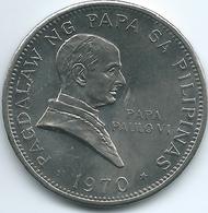 Philippines - 1970 - 1 Piso - Pope Paul VI Papal Visit - KM202 - Filippijnen