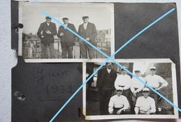 Photosx6 THUIN Strée Jeu De Balle Pelote 1932 Hainaut - Sports
