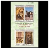 PRUEBA OFICIAL Nº 63 (EDIFIL)  - VI EXPO. LAS EDADES DEL HOMBRE AÑO 1997 - OFERTA POR LIQUIDACIÓN - 1991-00 Nuevos & Fijasellos