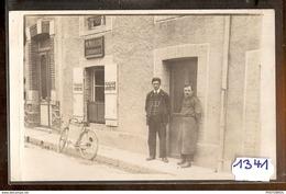 1341 CARTE PHOTO CORDONNIER M.MULLER A IDENTIFIER AVEC FACTEUR TTB - Cartoline