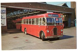 EASTERN COUNTIES LC 572 1960 BUILT BRISTOL SC4 LK - NVG FP - C977 - Cartoline