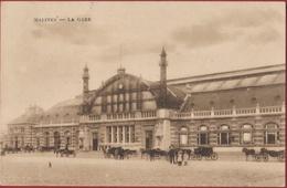 Malines La Gare Mechelen Station Statie ZELDZAAM Geanimeerd (En Très Bon Etat) (In Zeer Goede Staat) CPA - Malines