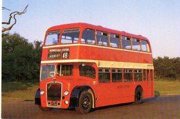 BUS  1954 BRISTOL LD5G  - NVG FG - C982 - Cartoline