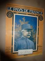 1916 LPDF: Pétain; Allemagne;Alsace Belgique;Trébizonde;Kapotolamo;Ispir(Arménie);Mytilène;Smyrne; Metelin;etc - Français
