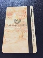 Hotelkarte Room Key Keycard Clef De Hotel Tarjeta Hotel JAPAN IMPERIAL OSAKA - Telefonkarten