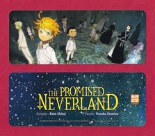 Marque Page.  Editions Kazé   Manga   The Promised Neverland.    Bookmark - Bladwijzers