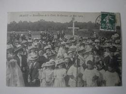 58 Brassy, Bénédiction De La Croix Saint Gervais, 30 Mai 1909 (A4p74) - France