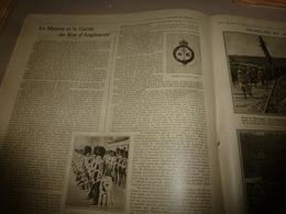 1916 LPDF: Coldstream Du Roi D'Angleterre; The Welsh Guards; Français Et Anglais;Krupp;Zeppelin L-32;La Canée;etc - Revues & Journaux