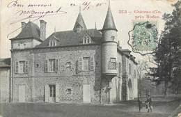 CPA 12 Aveyron Chateau D'Is Près Rodez - Rodez