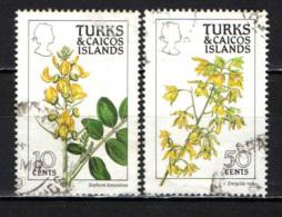 TURKS & CAICOS ISLANDS - 1990 - FLOWERS - USATI - Turks E Caicos