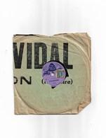 """Disque Ancien En Cire Pour Enfant   The Bell  """"Valentine""""     Celestine - 78 Rpm - Schellackplatten"""