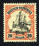 Allemagne, Colonie Allemande, Afrique Orientale, Deutsh Ostafrika, N°34 Oblitéré, Qualité TB - Colony: German East Africa