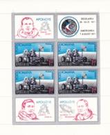 Rumänien, 1971, 2969/70 Block 88, MNH **,   Apollo 15 - Blocs-feuillets