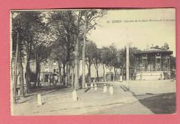 J - Ciney - Un Coin De La Place Monseu Et Le Kiosque 1938 - Obl Ciney Sur 425 - Déstockage A Petit Prix - Ciney