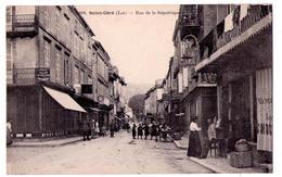 5188 - Saint-Céré ( 46 ) - Rue De La République - N°608 - Thiriat Et Cie - - Saint-Céré