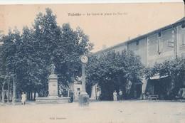CPA  26 TULETTE COURS ET PLACE DU MARCHE - France