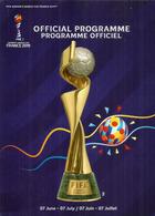 FIFA.WOMENS WORLD CUP FOOTBALL.2019.Programme Officiel,luxe. 148 Pages Couleurs. Un Seul Disponible. - Books