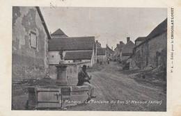 03 - SAINT MENOUX - La Fontaine Du Bon St Menoux - Autres Communes
