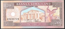 Somaliland 20 Shillings 1996 UNC - Somalia