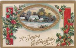 EMBOSSED CHRISTMAS CARD - Christmas
