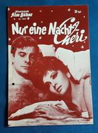 """GINA LOLLOBRIGIDA, Louis Jourdan, Philippe Noiret > """"Nur Eine Nacht Cheri"""" > Altes IFB-Filmprogramm (fp655) - Zeitschriften"""
