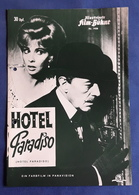 "GINA LOLLOBRIGIDA, Alec Guiness, Robert Morley, Peggy Mount > ""Hotel Paradiso"" > Altes IFB-Filmprogramm (fp656) - Zeitschriften"