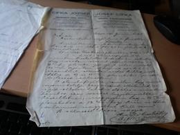 Budapest Cifka Jozsef  Pinczegazdaszati Czikk Szakuzlet  Bedarfsartikelen 1911 - Facturas & Documentos Mercantiles