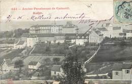 CPA 12 Aveyron Rodez Ancien Pensionnat De Camonil - Rodez