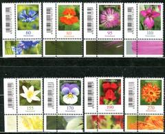 BRD - 3468 / 3475 ECKEN LIU - ** Postfrisch (D) - Blumen, Ausgabe 01.07.2019 - Ungebraucht