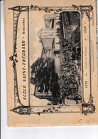 Livret Complet Ecole Saint Theodard Montauban Annee 1922-1923 - Montauban
