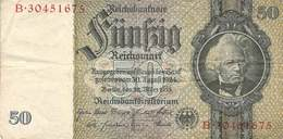 50 Mark Reichsbanknote VG/G (IV) - [ 2] 1871-1918 : Duitse Rijk
