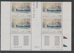 MONACO - NEUFS - COIN DATÉ - - Monaco
