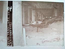 Guerre 1914-18 - Tranchée Des Baïonnettes - Plaque De Verre StéréoscopiqueTBE - Diapositiva Su Vetro
