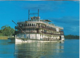 Paddle Steamer Murray Princess, Murray River, South Australia - Posted With Stamp - Australia