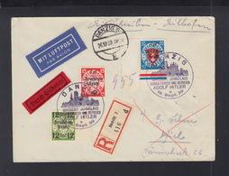 Dt. Reich Expresbrief Danzig 1939 Nach Kiel - Brieven En Documenten