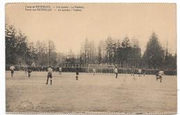 CPA PK  CAMP DE BEVERLOO  LES SPORTS  LE FOOTBALL   KAMP VAN BEVERLOO  DE SPORTEN VOETBAL - België